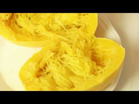 Healthy Hints: How to Make Spaghetti Squash